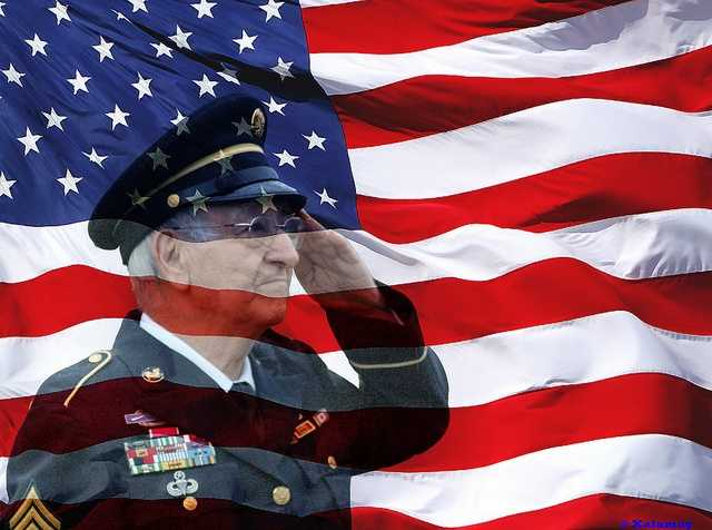 10. Make a contribution in the name of a veteran in your life to a veteran's organization.