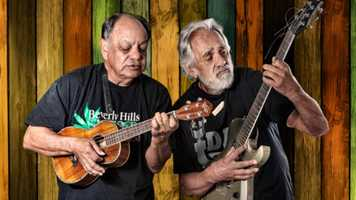 """August 23 - """"Up In Smoke"""" Cheech & Chong and War North American Tour"""