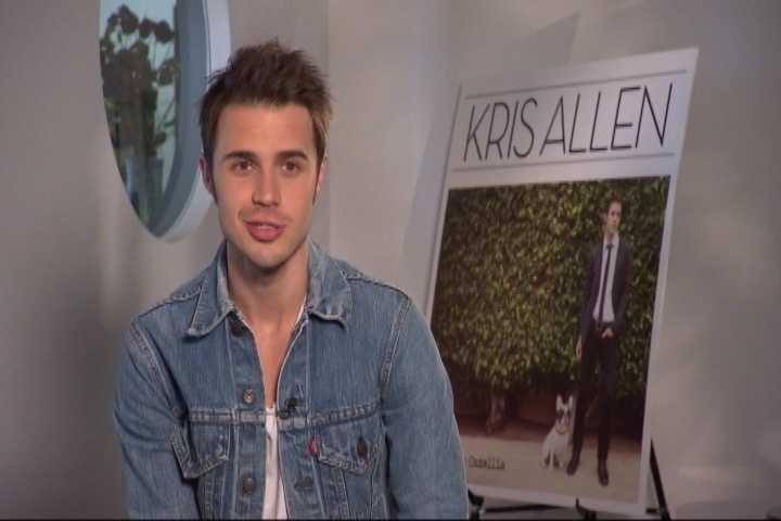 American Idol winner Kris Allen - 2009 performer