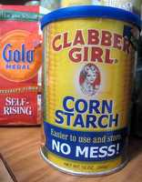 Corn starch for hair:Corn starch can work as a dry shampoo for next day hair.Just sprinkle onto your roots and wait a few minutes, then brush your hair.
