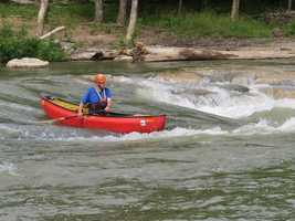 The Siloam Springs Whitewater Recreation Park:The park is possible thanks to a nearly $2 million investment from the Walton Family Foundation. It offers 600 feet of engineered river, which expanded and created two distinct rapids. There are also fully accessible paved trails along the Illinois River, picnic tables, a climbing boulder for kids, changing rooms and a family swim area with riverside seating.