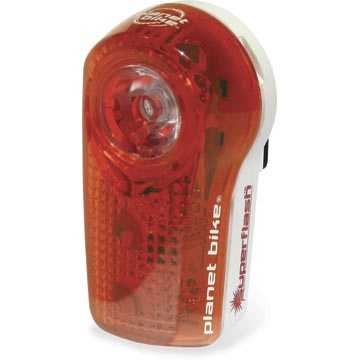 Keep dad safe on two-wheels with a new bike light from Phat Tire Bike Shop.
