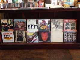 Give dad a vintage album of his favorite band from Sound Warehouse in Fayetteville... great for listening and for displaying!