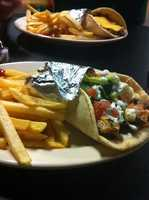 Tangiers Mediterranean Food and Cafe-Fayetteville- Combo Sandwich