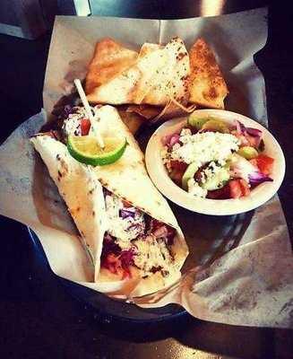 Taziki's Mediterranean Cafe-Bentonville and Fayetteville- Thursday's Special Tilapia Taco