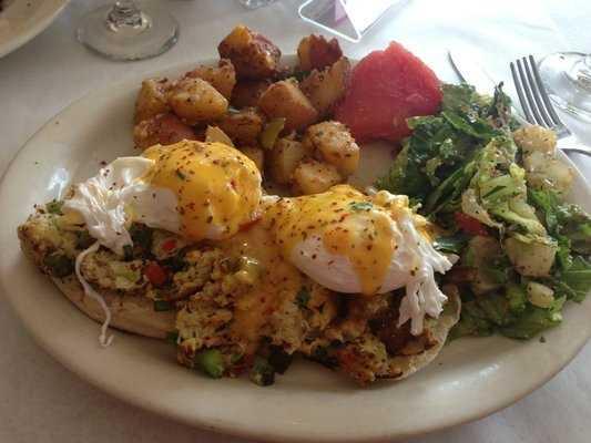 Emelia's Mediterranean Kitchen-Fayetteville-Blue Crab Benedict