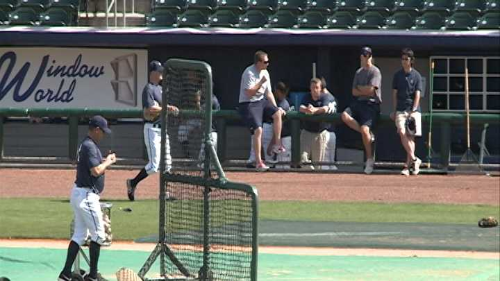 Naturals general manager says Sunday rainfall caught him by surprise