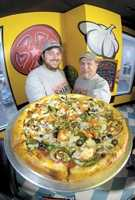 Chuck- (left) founded the company with a fun name and a set of taste buds tuned to the pitch of the perfect pizza pie.Jeff-(right) Can make a restaurant run like a swiss watch and runs the tightest ship in the biz