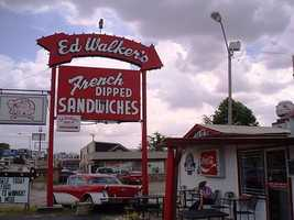 At 69-years-old, Ed Walker's is one of Arkansas'oldest restaurants.  It's one of a few places in the area that still sits in its original location.
