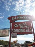 Ed Walker's is an old-fashioned 50's-themed diner, with car hop service, that was established in 1943.