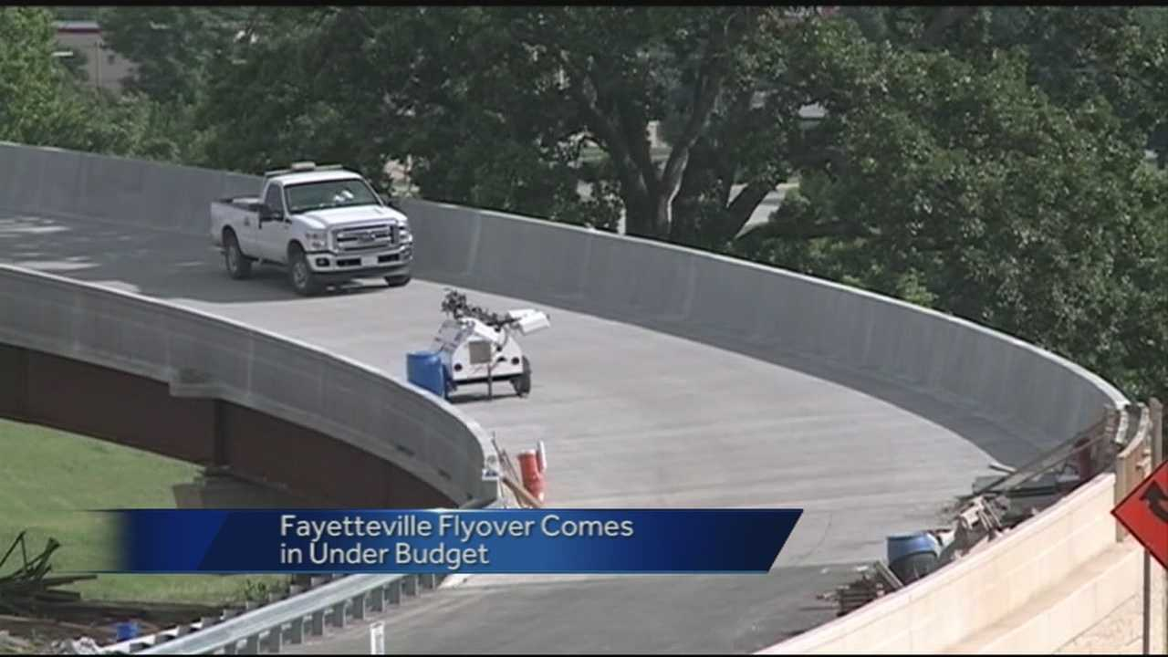 Documents show the flyover project cost less than expected.