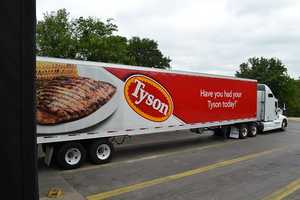 Tyson Foods Tyson Foods, based out of Springdale, is one of the world's leading producers of chicken, beef and pork. Tyson is the leading producer of tortillas, pizza toppings and crusts, deli meats and taco meat.