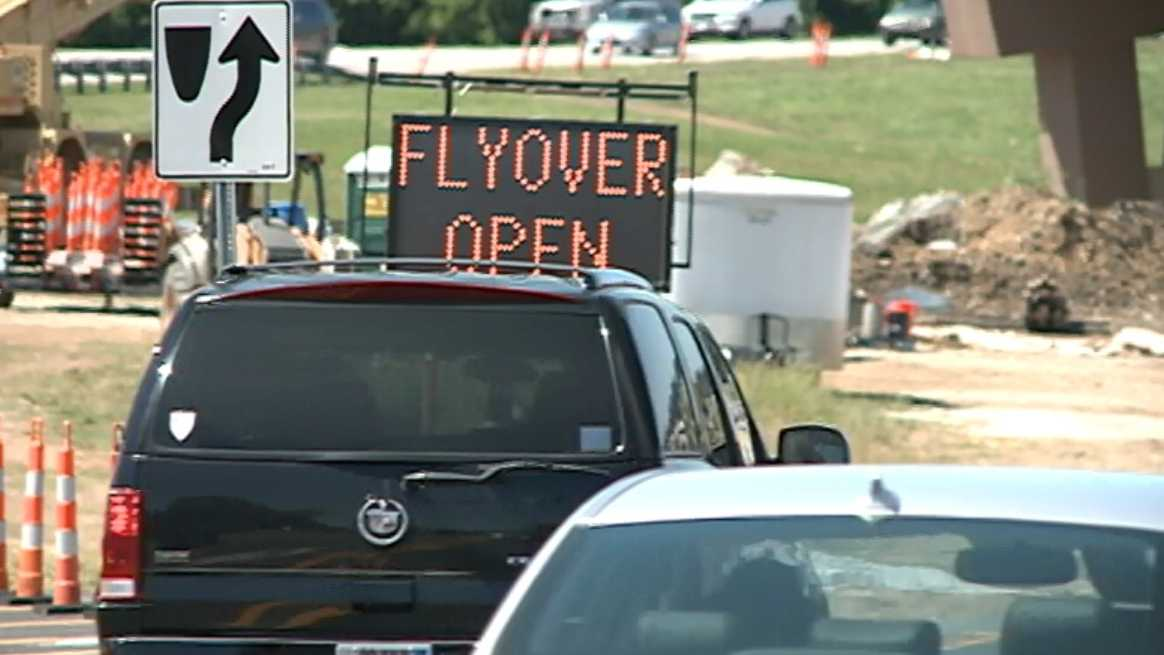 Fayetteville Flyover saves drivers commute time