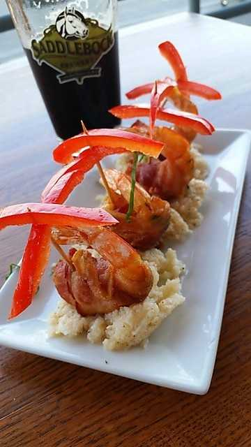 One of there Dinner Appetizers made with Jumbo Shrimp