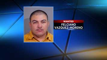 Felciano Vazquez-MorenoWanted by the Washington County Sheriff's DepartmentAccused of Battery