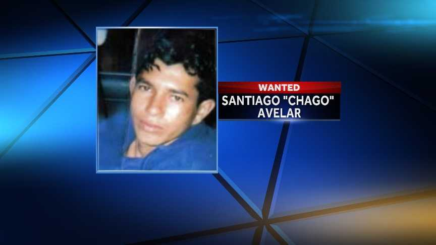 """Santiago """"Chago"""" AvelarWanted by the Benton County Sheriff's DeparmentAccused of attempted murder"""