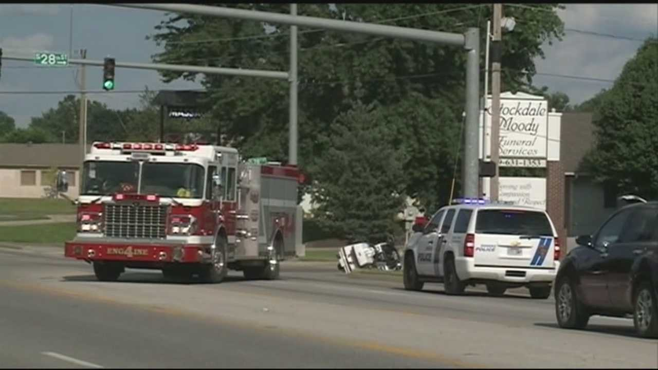 Motorcycle accident causes slowdowns in Rogers