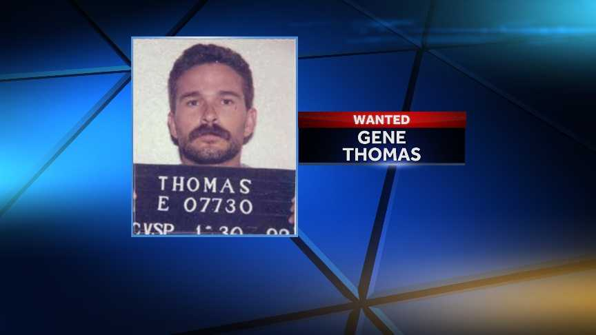 Gene Thomas Escaped on 7/5/1988Offense: Theft Of Property