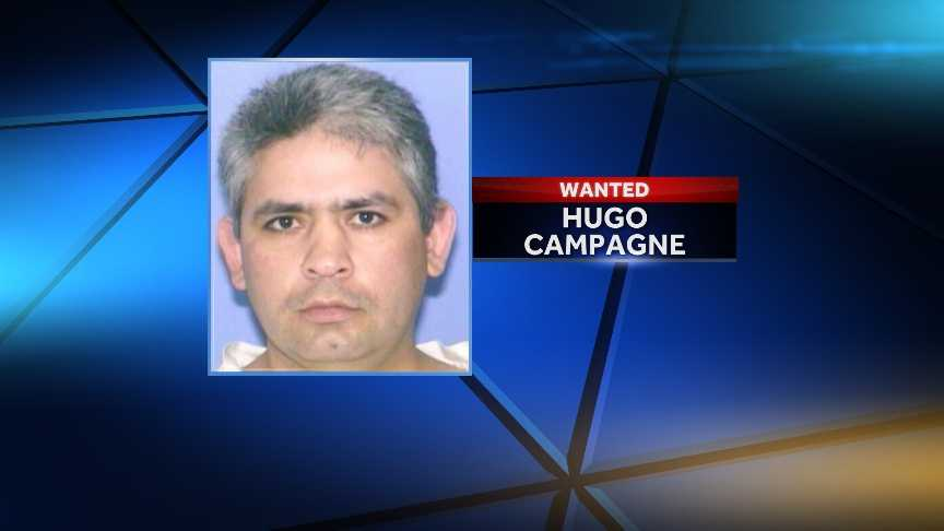 Hugo CampagneEscaped on 3/3/2001Offense: Controlled Substance