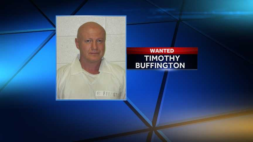 Timothy BuffingtonEscaped on 6/21/2014Offense: Murder-1st Degree