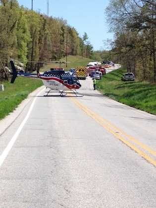 Accident in Eureka Springs