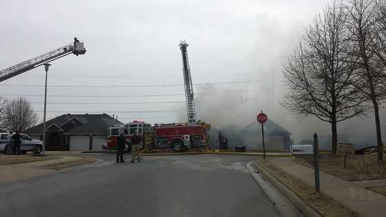 House fire in Springdale