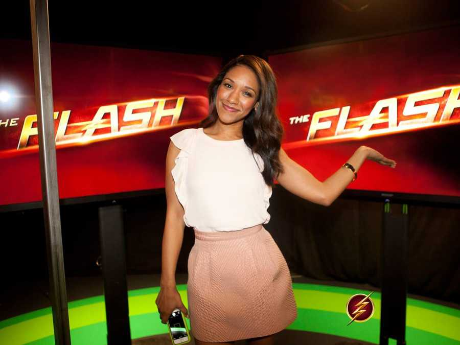 Candice Patton will make her first live-action appearance on the upcoming new series The Flash as Iris West! The Flash coming this fall-October 7th at 7 pm to the Arkansas CW!