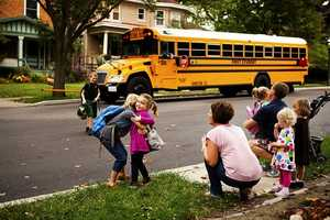 About 480,000 yellow school buses take 25 million children to school every day.