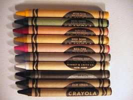 In the Color Census of 2000, blue was voted people's favorite color of crayon. Tan, tumbleweed and spring green were voted people's least favorite.