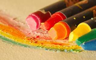 By the time a child turns 10, they have typically worn down 730 crayons. That's enough to color an NBA basketball court.
