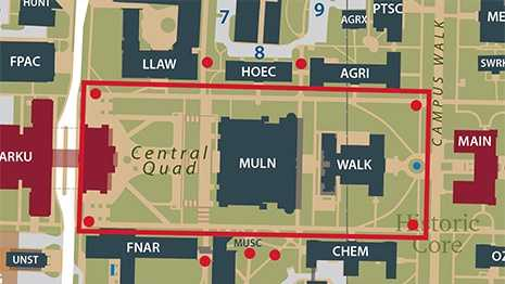 University police limit where bikers can ride