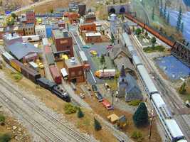 Model Railroads: A starter model railroad set can cost $300-$400… but then you can get carried away and into the thousands.