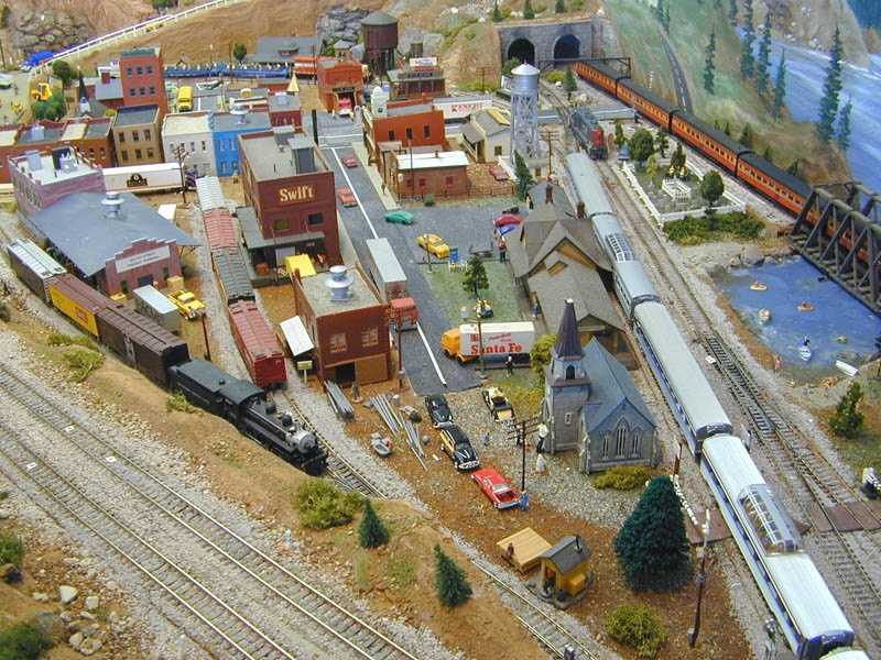 Model Railroads:A starter model railroad set can cost $300-$400… but then you can get carried away and into the thousands.