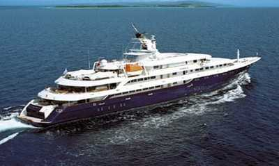 Yachting:Luxury yachts cost tens of millions of dollars, with some priced at more than $400 million.
