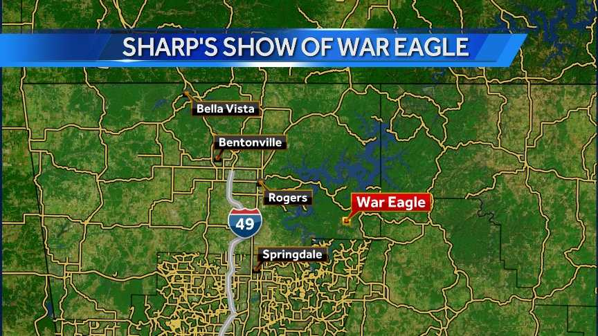 Sharp's Show of War Eagle is right next to the War Eagle Fair.