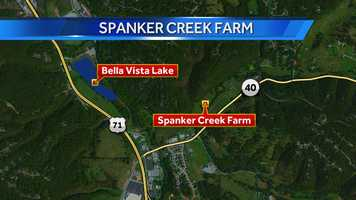 Spanker Creek Farm is just off Highway 71 in Bella Vista on Benton County 40.