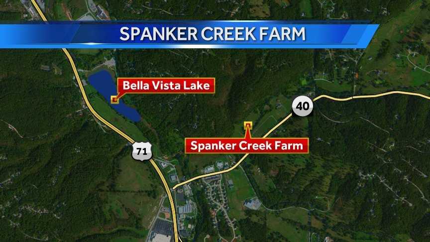 Spanker Creek Farm is just off Highway 71 in Bella Vista on Benton County 40.