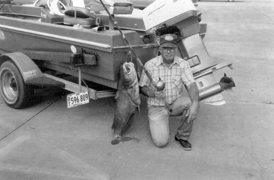 The record Channel Catfish was caught in 1989 by Joe Holleman. He caught the 38-pounder in Lake Ouachita.
