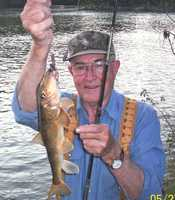 D. Victor Waits set the Northern Hog Sucker record in 2011 with this 1-pound, 2-ounce fish he caught in the Spring River.