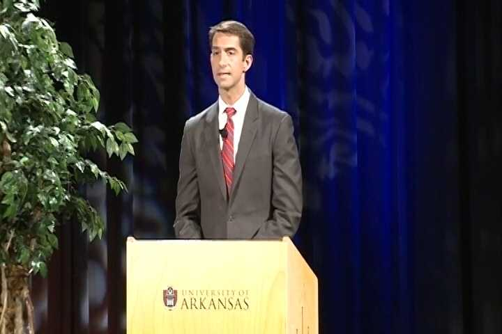 CLAIM: In the debate hosted by 40/29 News, Sen. Pryor said money from outside the state is helping Rep. Cotton.