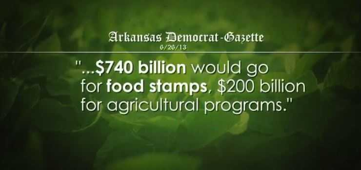 CLAIM: A Cotton Campaign ad said Pres. Obama turned the Farm Bill into a Food Stamp Bill.