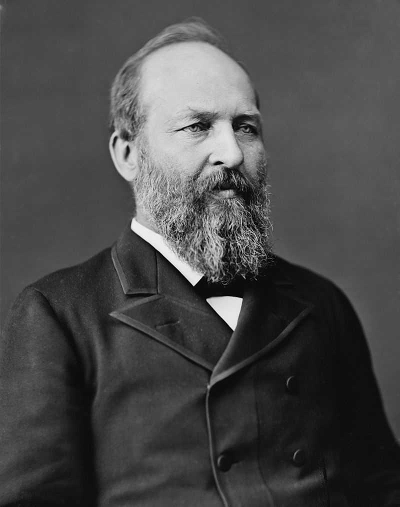 Garfield was named after President James A. Garfield.