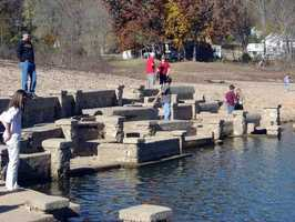 """Monte Ne means """"mountain water."""" It was founded as a resort town."""