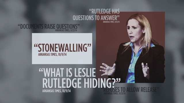 "FACT: A supervisor put a note on her file after Rutledge resigned from her job in 2007 to work on Mike Huckabee's presidential campaign. She said the note was ""a partisan attempt to undermine me."""
