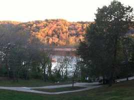 Fall on Beaver Lake