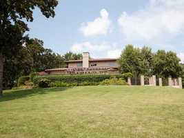 The house size is 8,667 square feet, sitting on 1.03 acres of land.