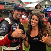One of AJ's favorite interviews was Travis Pastrana during her time covering Rally Car.