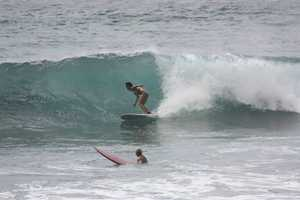 Surfing in Hawaii is still one of AJ's favorite places to vacation.