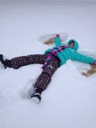 Make snow angels