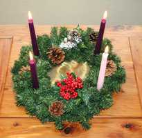 Light an Advent wreath